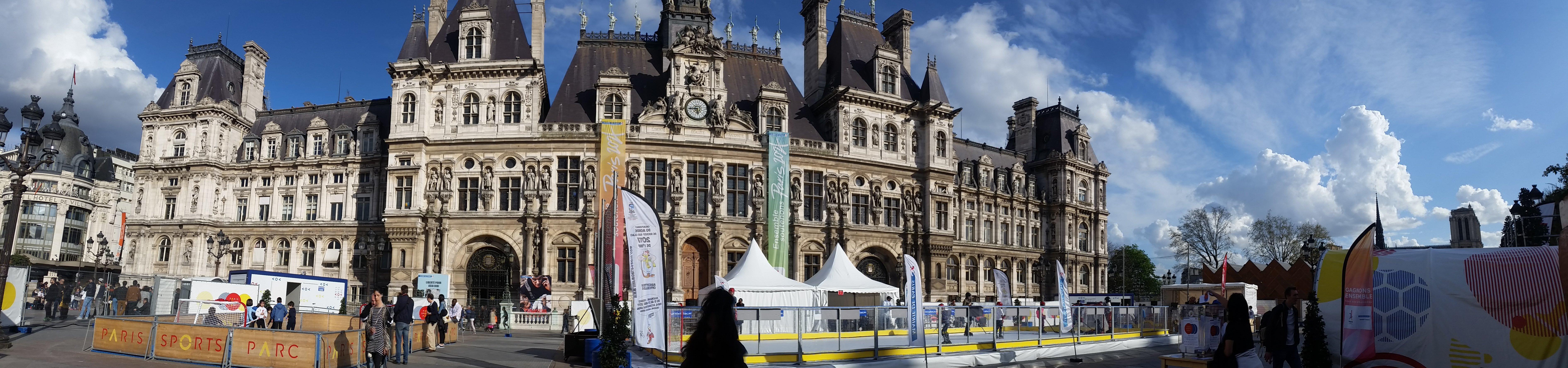 Paris Hockey Tour - Place de l'Hôtel-de-Ville